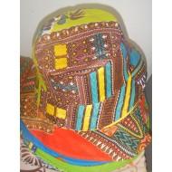 Chapeaux en tissu wax