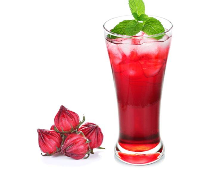 Jus d'hibiscus